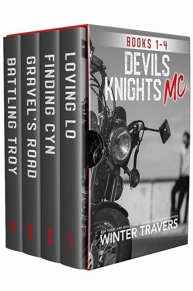 実際に執着カイウスDevil's Knights MC: Books 1-4 (English Edition)