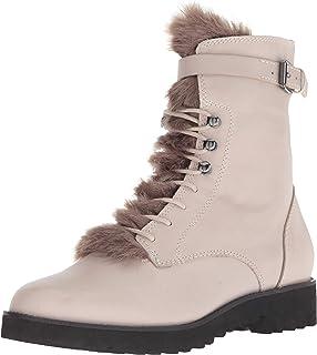 حذاء حريمي من Franco Sarto Canon Combat ، مصنوع من الفولاذ ، مقاس 9 M US