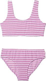 Seafolly girls Square Neck Bikini Swimsuit Set Two Piece Swimsuit