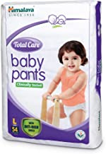 Himalaya Total Care Baby Pants Diapers, Large, 54 Count