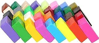 Liyuan - Bloques de arcilla polimérica de 32 colores para horno, moldura, efecto fimo, para niños, adultos, proyectos creativos