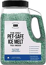Natural Rapport Pet Friendly Ice Melt - Calcium Chloride Free, Pet Safe Ice Melter, Rock Salt Alternative - Time Release D...