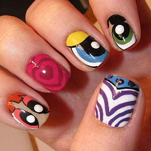 Cute Nail Art Designs For Girls