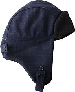 PS by Paul Smith Men's Hat Checked Trapper Cold Weather