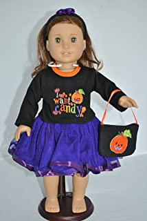 Unique Doll Clothing I Want Candy Halloween Costume for 18
