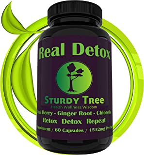 🌱Organic-Keep Cleansed-Premium Detox Formula - Energy Boost-Colon Cleanser-Hangover Helper-Weight Loss-Dietary Supplement-Acai Berry-Ginger Root-Chlorella-Made in USA