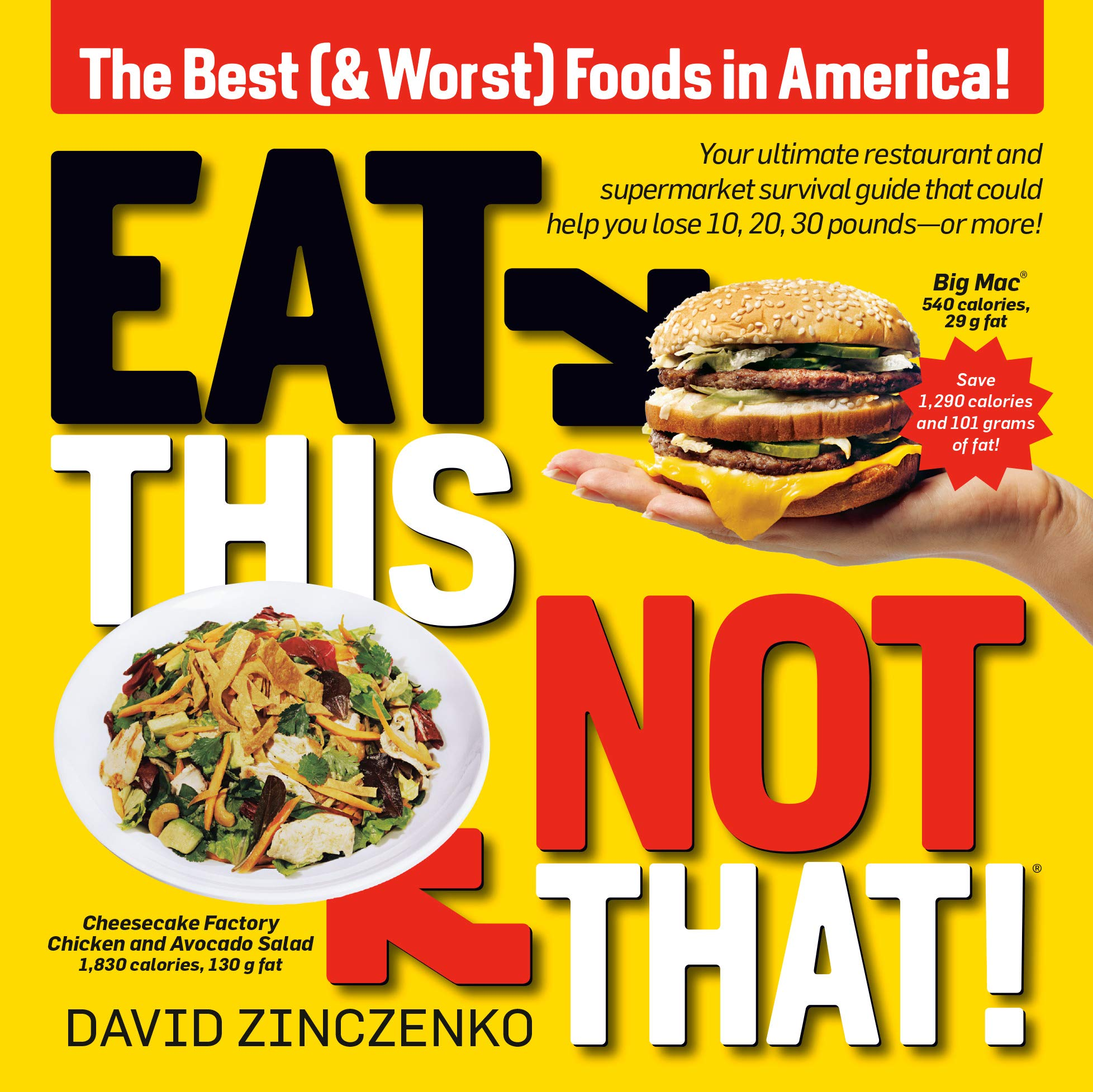 Download Eat This, Not That (Revised): The Best (& Worst) Foods In America! 
