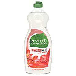 Seventh Generation Dish Liquid Soap, Summer Orchard scent, 22 Fluid Ounce