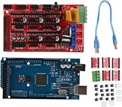 A4988 Stepper Motor Driver, RAMPS 1.4 Controller, Stable 3D Printer Set Driver Module Printed for Printing 3D Prints Clean...