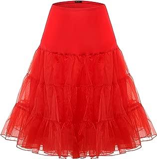 Vintage Women's 50s Petticoat Skirts Crinoline Tutu Crinoline Underskirts