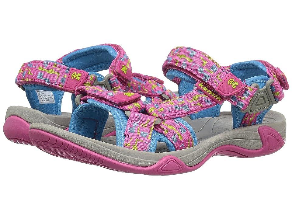 Kamik Kids Lowtide 2 (Little Kid/Big Kid) (Magenta) Girls Shoes