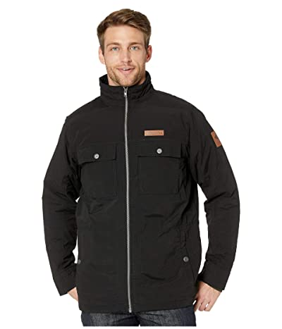 Columbia Wheeler Lodge Casual Jacket (Black) Men