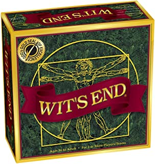 Wit`s End Board Game - Ages 16 to Adult