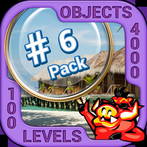 Pack 6 - 10 in 1 Hidden Object Games by PlayHOG