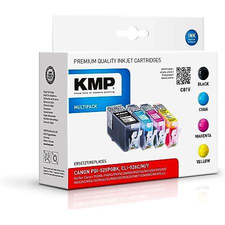 Kmp Multipack Für Canon Pixma Mg8150 C81v Bürobedarf Schreibwaren