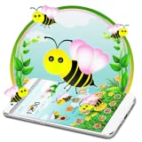 Cute Yellow Honeybee 2d theme (free)