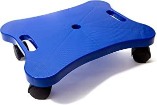 Educational Manual Plastic Scooter Board with Safety Handles   16