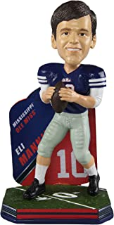 Forever Collectibles Eli Manning Ole Miss Rebels Special Edition College Football Name and Number Bobblehead - New York Giants