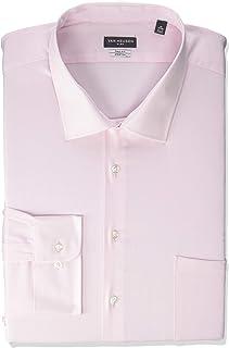 Men's Fit Dress Shirt Flex Collar Stretch Solid (Big and...