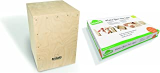 Nino Percussion Kids' Make Your Own Cajon Kit-MADE IN EUROPE-Baltic Birch Wood, Includes Easy to Follow Manual, 2-YEAR WARRANTY (Parts Only), inch (NINO951-MYO)