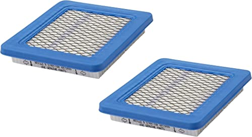 high quality 2 Pack Genuine 2021 Briggs & Stratton 491588S Air Filter outlet online sale Replaces 399959 OEM online sale