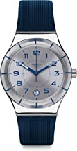 Swatch Men's Digital Automatic Watch with Silicone Strap YIS409