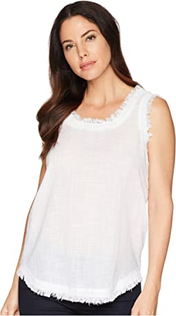 Frayed Hem Tank Top