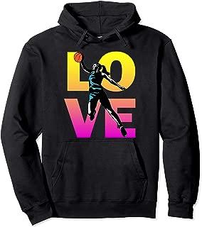 LOVE Basketball Teen Girls Women Pullover Hoodie