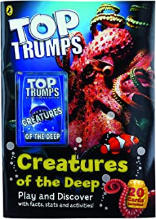 Penguin Activity Books - Creatures Of The Deep Sea Top Trumps Card Game | Educational Card Games