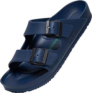 SAGUARO Pantofole Unisex Antiscivolo Uomo Donna Spiaggia da Ciabatte Slip-on Scarpe da Bagno Leggere Casuale Sandali