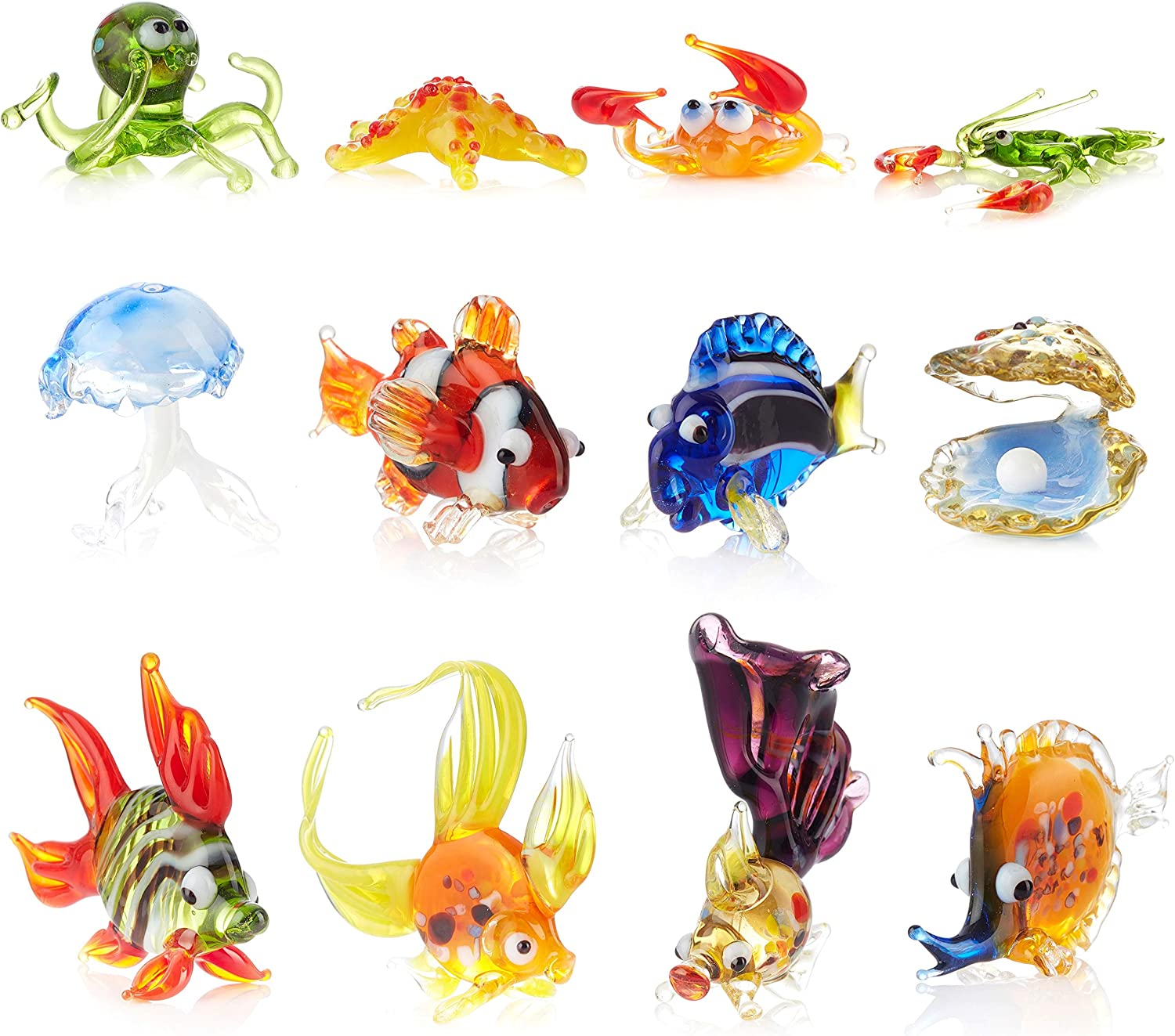 Aquarium Decorations Manufacturer direct delivery Glass Recommendation Figurines - Handmade Blowing Co