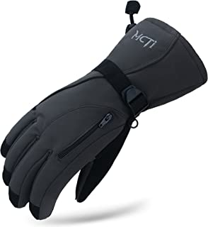Best MCTi Waterproof Mens Ski Gloves Winter Warm 3M Thinsulate Snowboard Snowmobile Cold Weather Gloves Review
