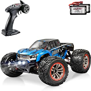 Hosim Large Size 1:12 Scale High Speed 46km/h 4WD 2.4Ghz Remote Control Truck 9155, Radio Controlled Off-Road RC Car Elect...