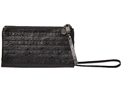 The Sak Silverlake Soft Wallet (Black Paillettes) Clutch Handbags