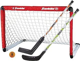 Franklin Sports NHL Goal & 2 Stick Set (Renewed)