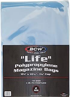 "LIFE"" Magazine Bags 100 bags 11-1/8"" x 14-1/4"" + 1-1/4"