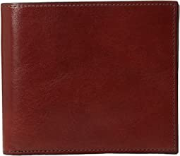Old Leather Collection - Eight-Pocket Deluxe Executive Wallet w/ Passcase