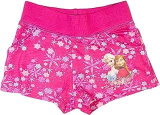 Frozen Pantaloncini Corti Shorts Bambina Colori Blu e Rosa