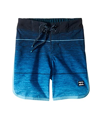 Billabong Kids 73 Stripe Pro Boardshorts (Big Kids) (Blue) Boy