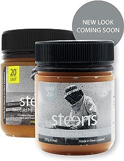 Steens (スティーンズ) 100%天然 生 非加熱 マヌカハニー UMF20+ (MGO829+) 250g