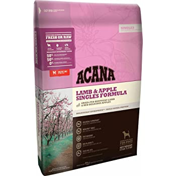 Acana Lamb and Apple Singles Formula Dog Food, 13 Pound Bag