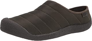 حذاء رجالي للمشي لمسافات طويلة من KEEN مطبوع عليه Howser Slide ، لون الغابة الليلي/أسود