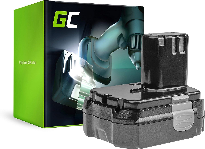 GC® (2.5Ah 14.4V Li-Ion) BCL1415 BCL1420 BCL1430 BCL1440 BCL 1415 BCL 1420 BCL 1430 BCL 1440 EBL1430 Batería para Hitachi CJ14DL DS14DCL DS14DL DV14DL WH14DL DV14DVKS G14DL WH14D
