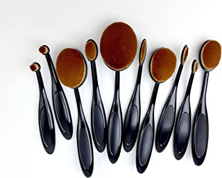 Life Changing Blending Brushes by Picket Fence Full 10 Pack Set Fine to Broad Application Assortment