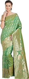Viva N Diva Sarees for Women's Banarasi Sarees Banarasi Art Silk Saree with Un-Stiched Blouse Piece,Free Size