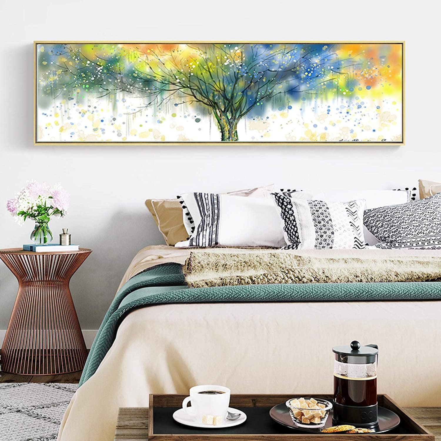 Art Watercolor Dense Tree Max 87% OFF Prints P on Canvas Abstract Paintings Max 84% OFF