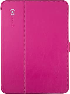 Speck Products Style Folio Case and Stand for Samsung Galaxy Tab 4 10.1, Fuchsia Pink/Nickel Grey