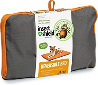 Insect Shield 23 by 16-Inch Insect Repellent Reversible Bed