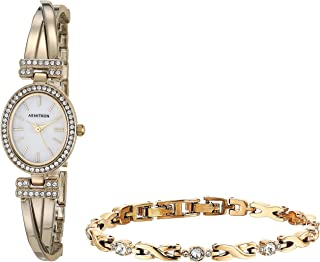 Women's Swarovski Crystal Accented Bangle Watch and Bracelet Set, 75/5381