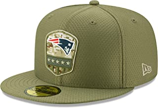 New Era England Patriots 59fifty Basecap On Field 2019 Salute To Service